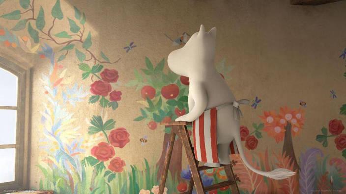La Fresque de Maman Moomin