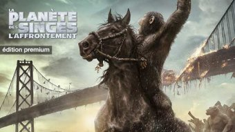 La planète des singes : l'affrontement - édition premium