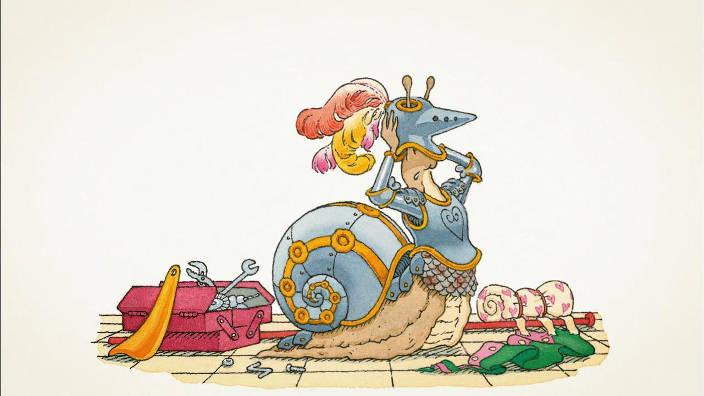 Le chevalier de ventre-à-terre