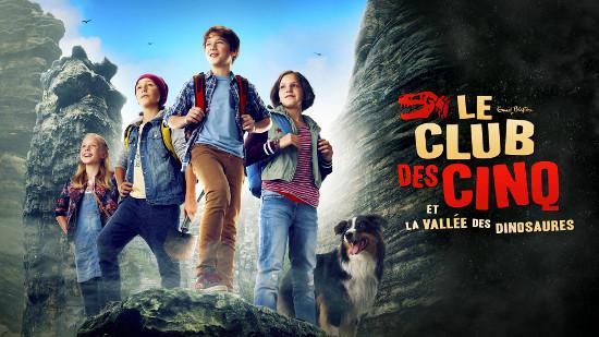 Le Club des Cinq et la Vallée des Dinosaures