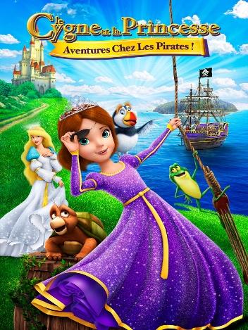 Le cygne et la princesse : aventure chez les pirates