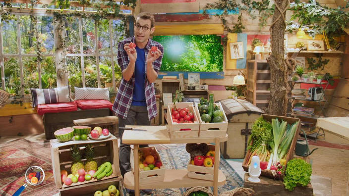 Le secret des fruits et légumes