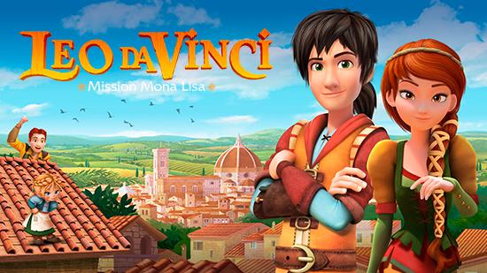 Leo Da Vinci : Mission Mona Lisa