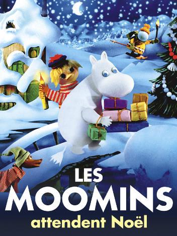 Les Moomins attendent Noël