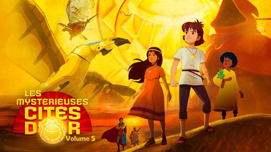 Les mystérieuses cités d'or - Saison 2 - Volume 05