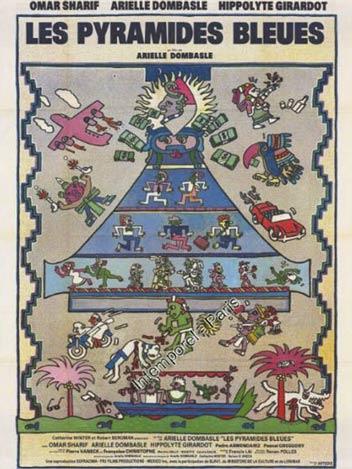 Les pyramides bleues