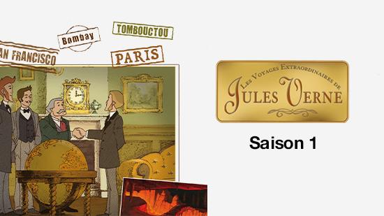 Les Voyages extraordinaires de Jules Verne - S01