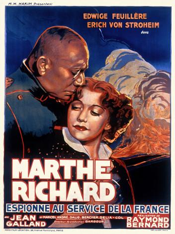 Marthe Richard, espionne au service de la France