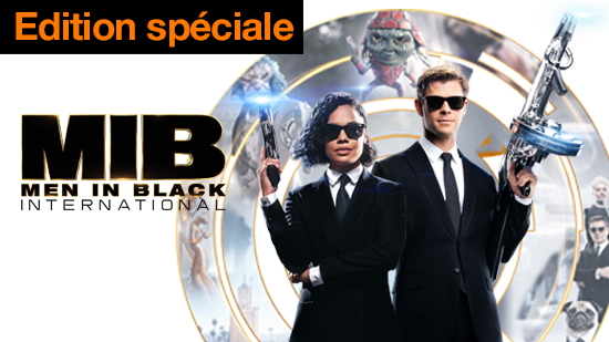 Men in Black: International - édition spéciale
