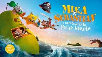 Mika et Sébastian : l'aventure de la poire géante