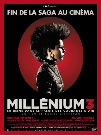 Millénium 3: La reine dans le palais des courants d'air