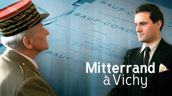 Mitterrand à Vichy