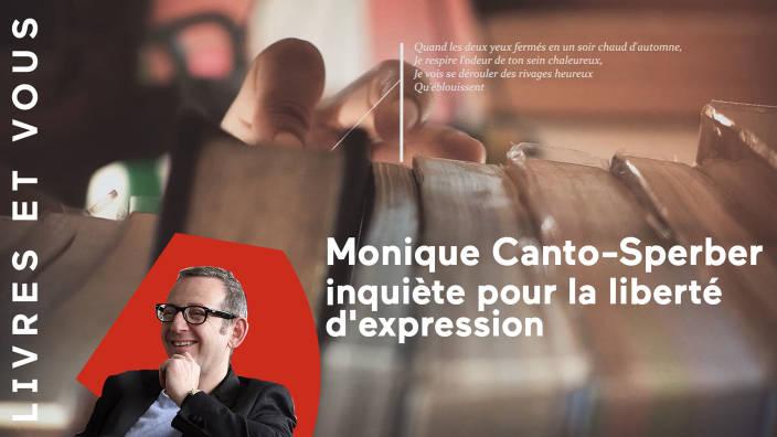 Monique Canto-Sperber inquiète pour la...