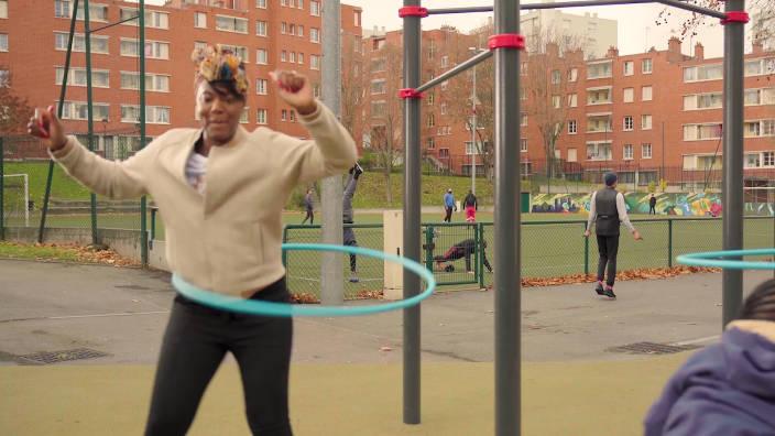 Nés pour bouger - Hula hoop