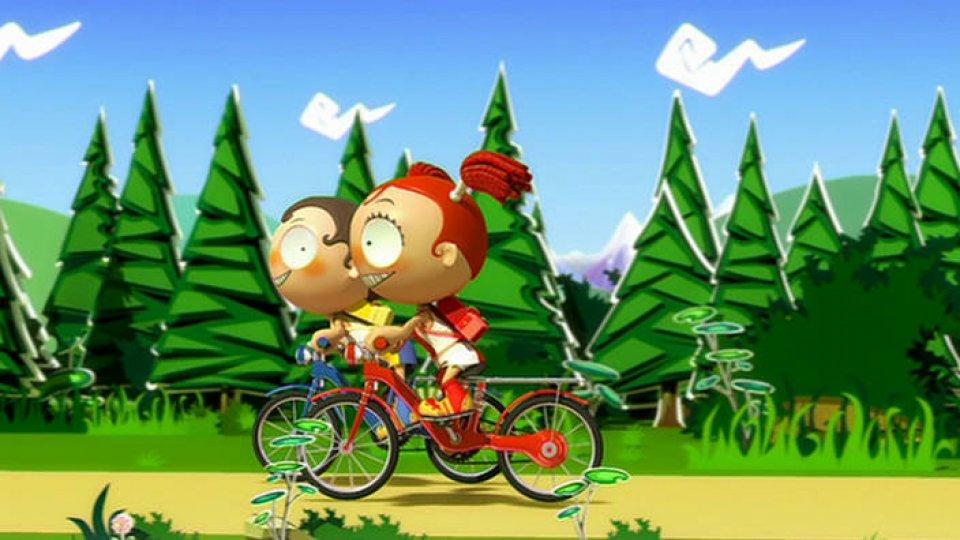 O Passeio de Bicicleta