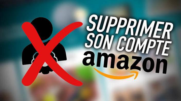 On a essayé de supprimer notre compte Amazon