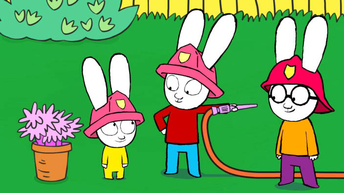 On est des vrais pompiers