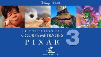 Pixar : la collection des courts-métrages Pixar - Volume 3