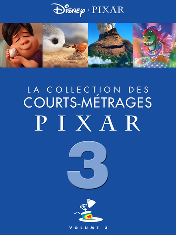 Pixar : la collection des courts-métrages Pixar - Volume 3