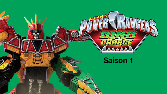 Power Rangers : Dino charge - S01