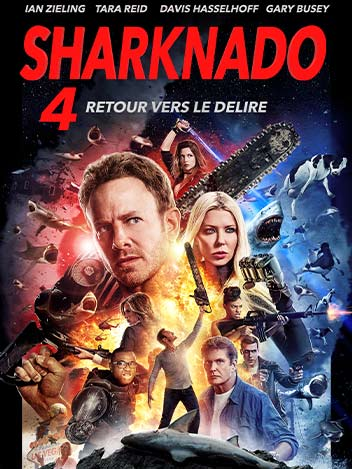 Sharknado : Le 4e réveil