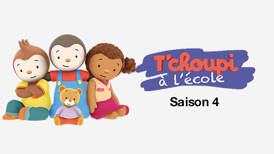 T'Choupi à l'école - S04