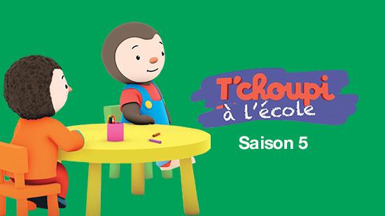 T'Choupi à l'école - S05