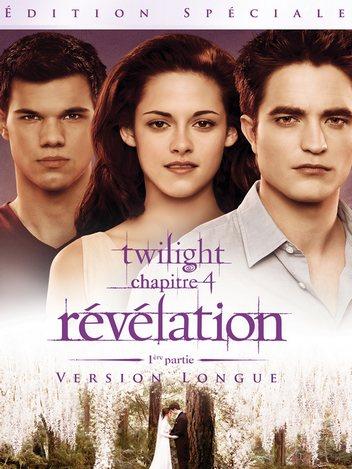 Twilight - chapitre 4 : révélation 1ère partie - version longue