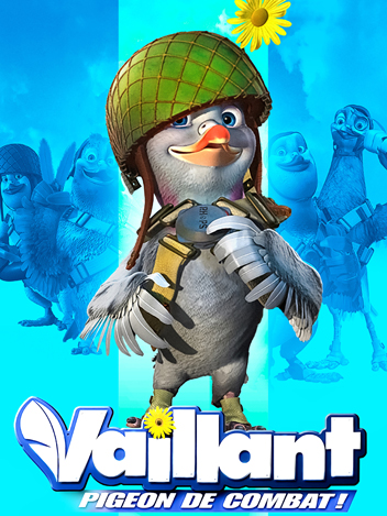 Vaillant : pigeon de combat !
