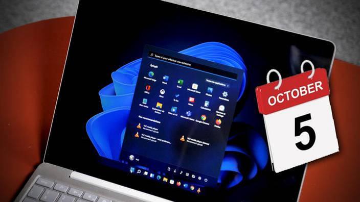 Windows 11 arrive le 5 octobre avec des