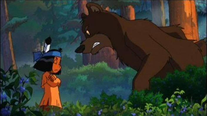 Yakari et l'ours fantôme