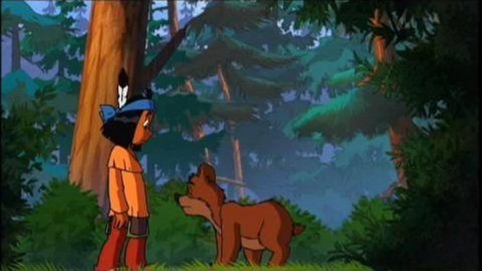 Yakari et l'ourse piquée