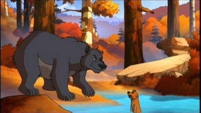 Yakari et le grizzli