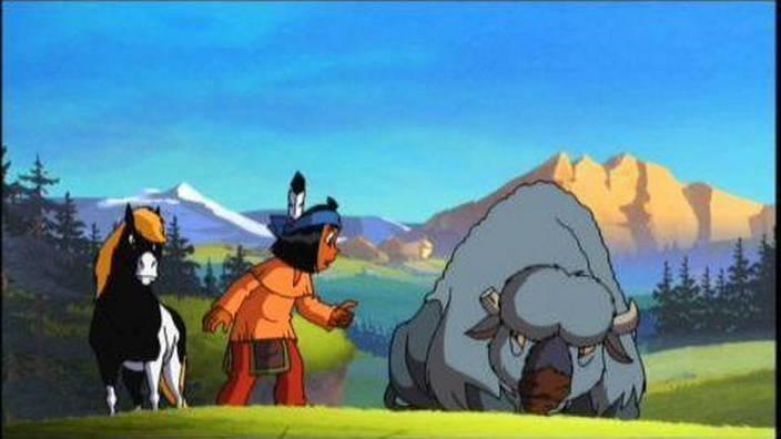 Yakari et le Vieux Bison