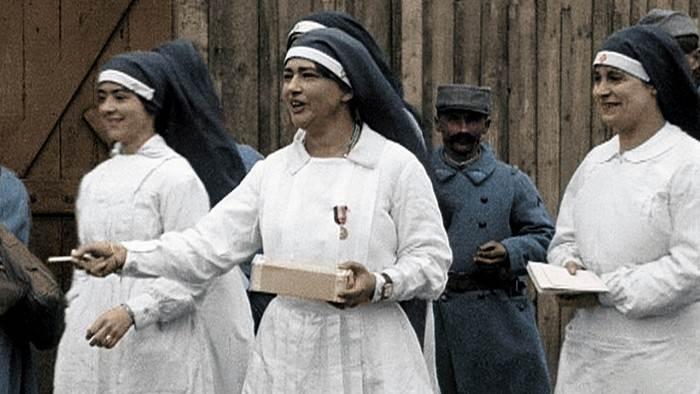Image du programme Elles étaient en guerre (1914-1918)
