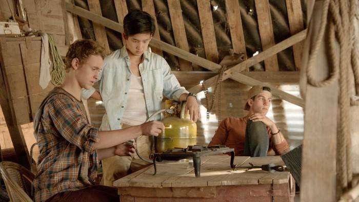 Image du programme Nowhere Boys : entre deux mondes S 01
