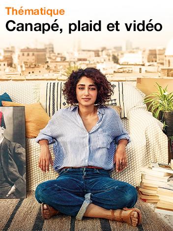 Canapé, plaid et vidéo