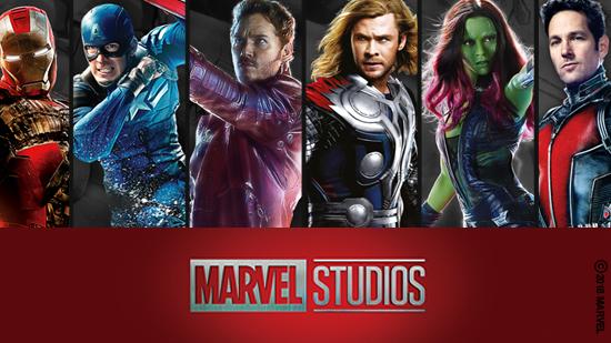 Les héros Marvel