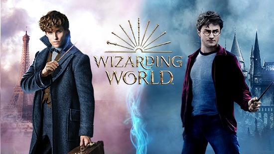 Les héros Wizarding World