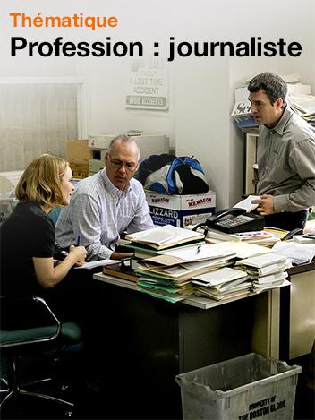 Profession :  journaliste