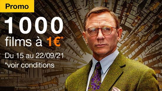 Promo 1000 films 1€