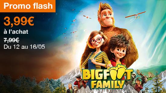 Promo Flash : Big foot family