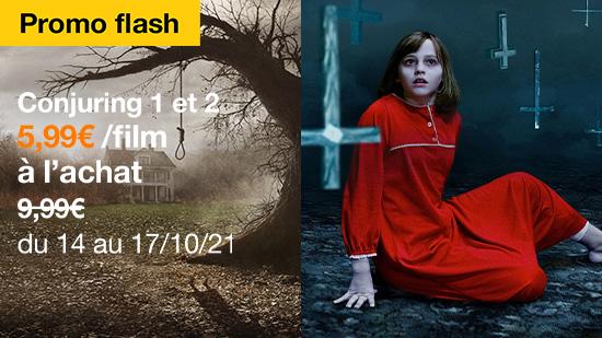 Promo Flash : Conjuring 1 et 2