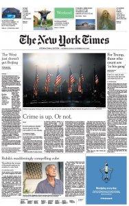 The New York Times International Edition