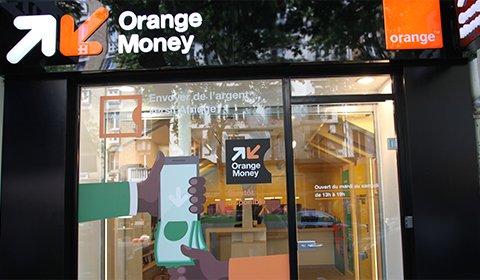 La boutique Orange Money : transferts d'argent de mobile vers mobile