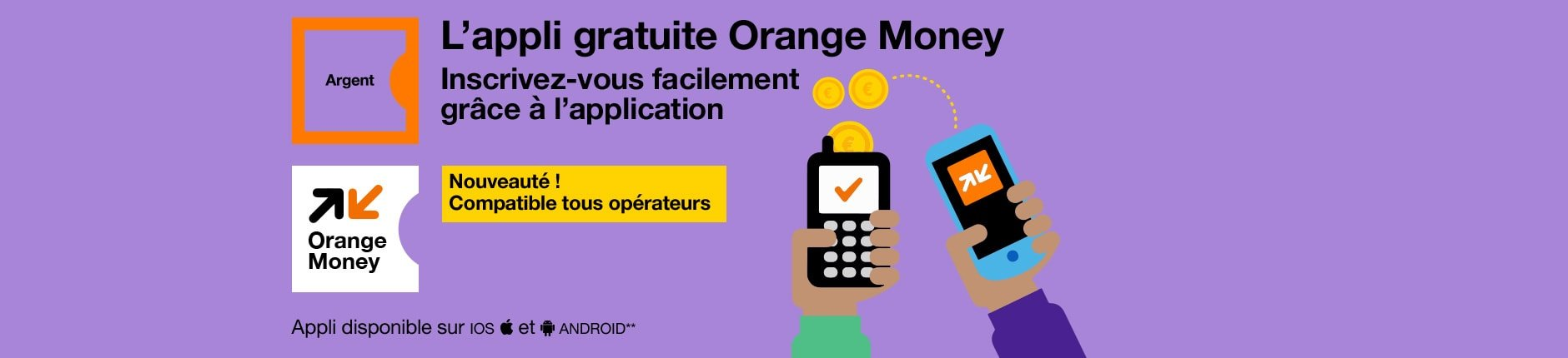 application orange money