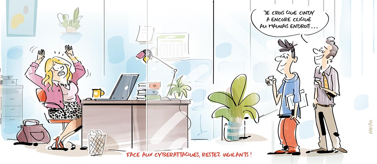 Cyberattaques : toutes les entreprises sont concernées