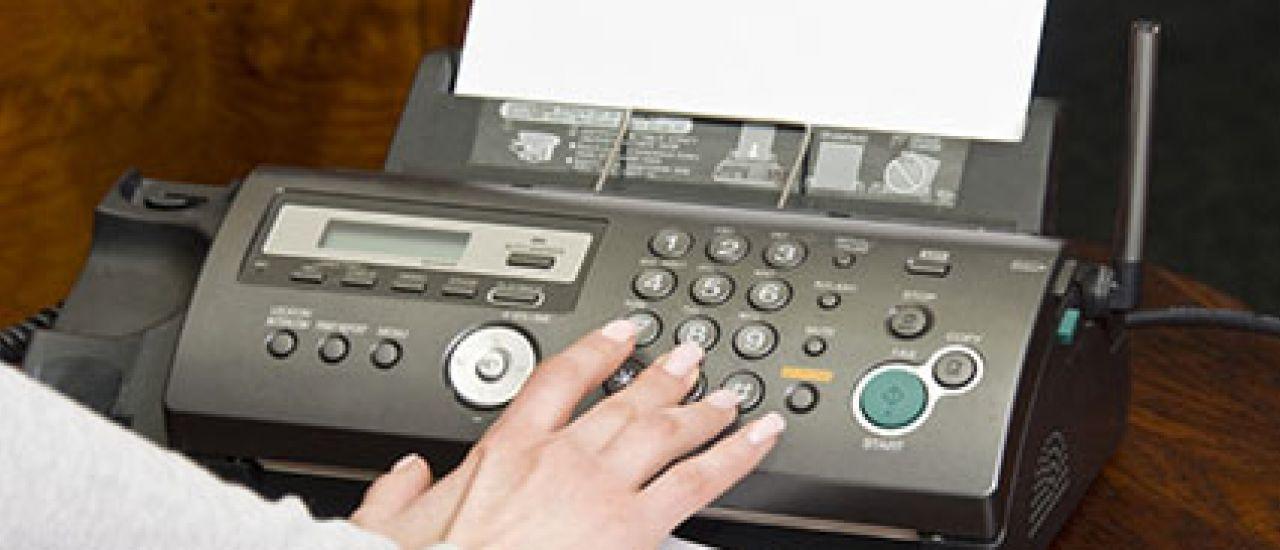 Le fax ne serait pas mort ?