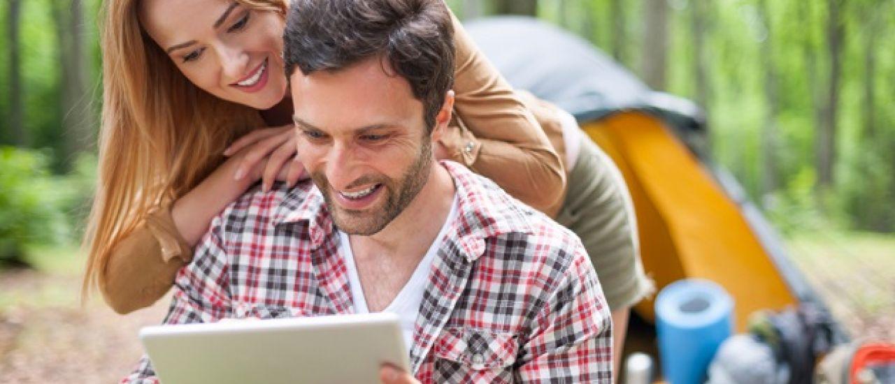 L'hôtellerie de plein air se facilite la vie grâce aux tablettes
