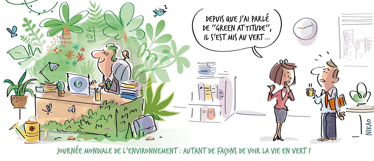 Protéger l'environnement, c'est l'affaire de tous !
